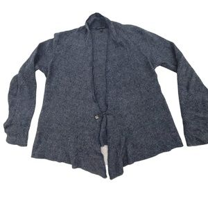 Eileen Fisher Sweater S Wool Cashmere Mohair Cardi